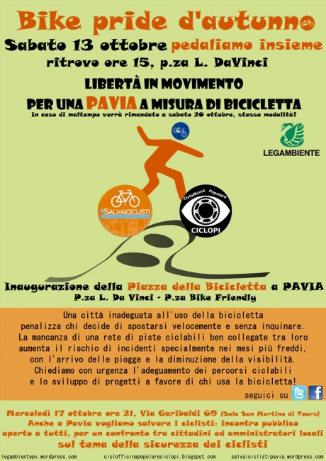 Bike Pride d'autunno